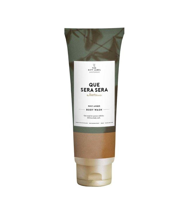 The Giftlabel Body wash tube Que sera sera - Rose amber