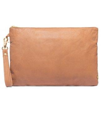 DEPECHE Small bag / clutch cognac