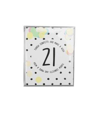 The Giftlabel Confetticard - #21