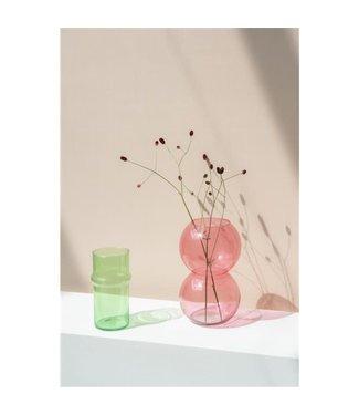 UNC Bubbel vaas roze