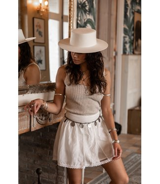 MOOST WANTED Novia skirt off white