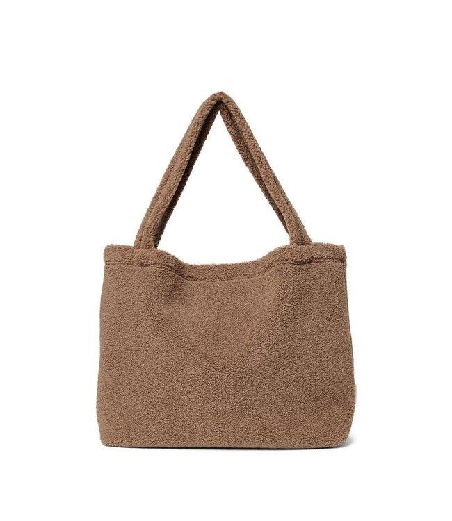 STUDIO NOOS Brown teddy  mom bag