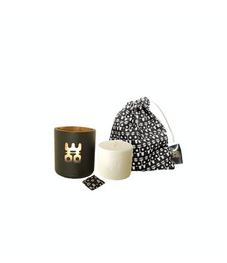 Woo Cares Lucky Candle refill Tranquility maat L