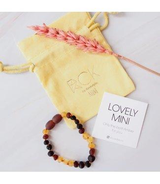 ROCKSTYLE Armband barnsteen mini Amber