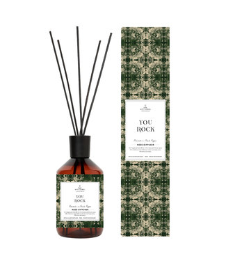 The Giftlabel Reed diffuser  - You rock aw21