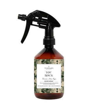 The Giftlabel Home spray - You rock groen
