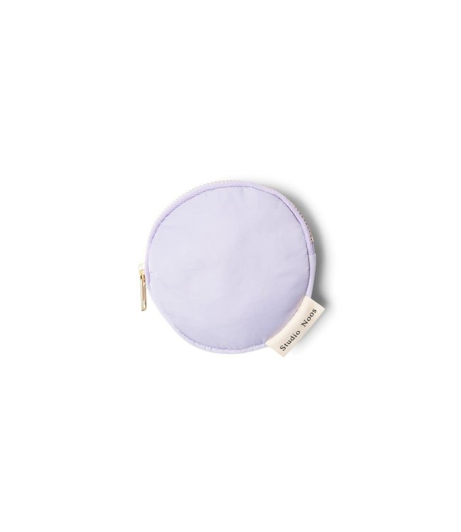 STUDIO NOOS Lilac puffy wallet
