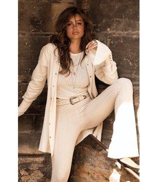 MOOST WANTED Saga linnen blouse beige