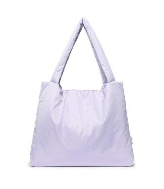 STUDIO NOOS Lilac puffy mom-bag