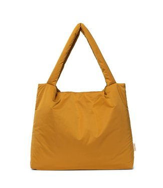 STUDIO NOOS Ochre puffy mom-bag