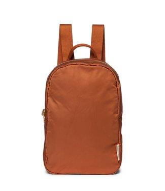 STUDIO NOOS Rust puffy backpack
