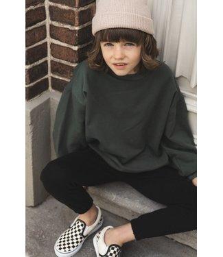 Milk N Sugar Basic sweater green