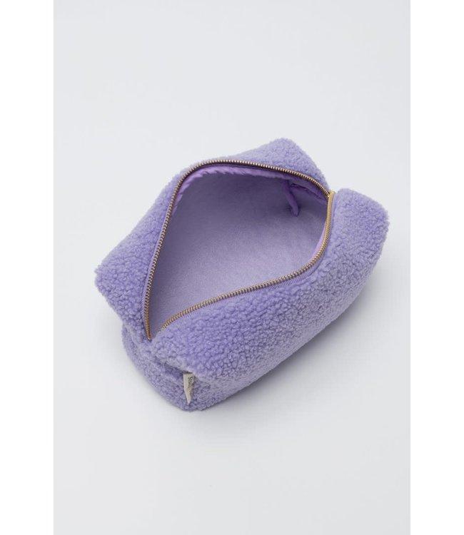 Lila teddie pouch