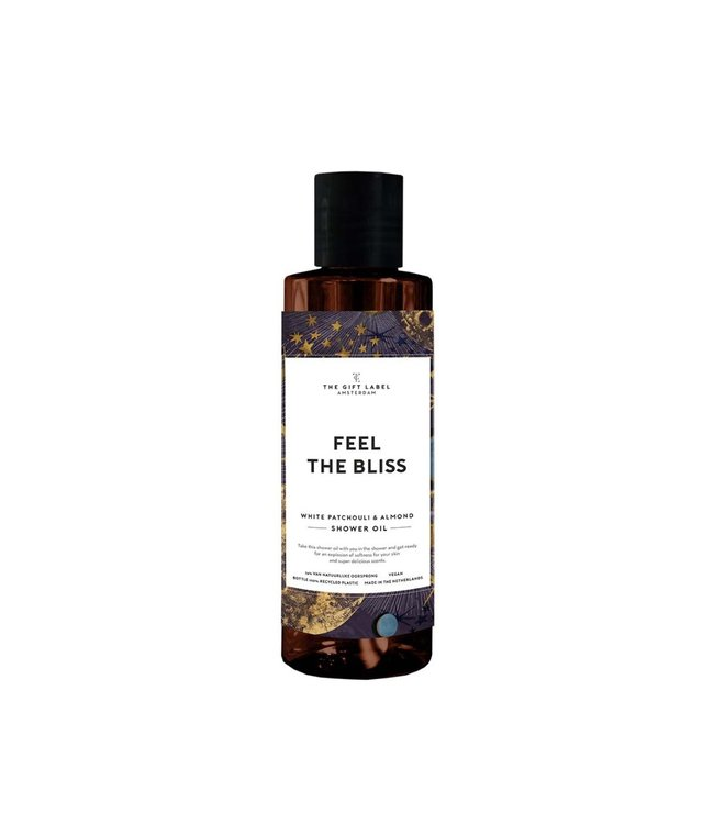 The Giftlabel Shower oil - Feel the bliss
