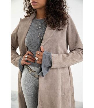MOOST WANTED Celia Suede Coat