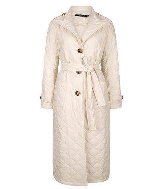 Ydence Coat Flora winter white