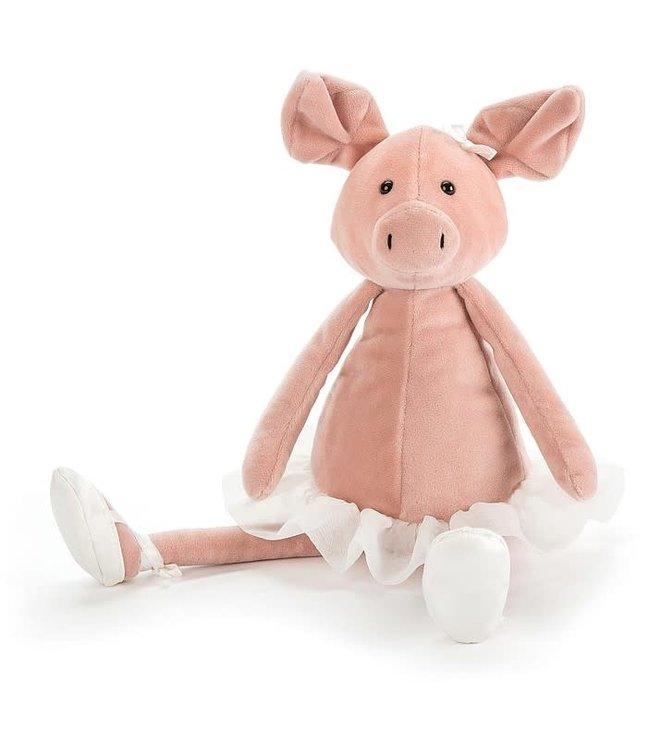 JELLYCAT Dancing darcey piglet knuffel