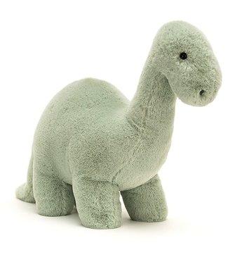 JELLYCAT Fossilly Brontosaurus knuffel