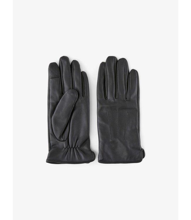 PIECES Nellie leather smart glove