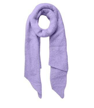 PIECES Pyron structured scarf - Lavender