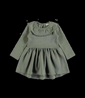 Pexi Lexi Dress ruffle algave - green