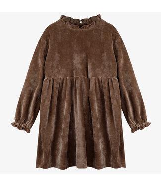 Milk N Sugar Velvet Soft brown dress