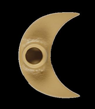 A LA Mooncandle holder - mustard