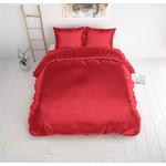 Sleeptime Beauty Skin Care Dekbedovertrek Red (merk: Sleeptime) Inclusief kussensloop/kussenslopen