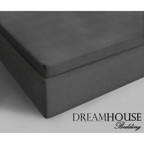 Dreamhouse Dreamhouse Bedding Katoenen Topper Hoeslaken - Antraciet