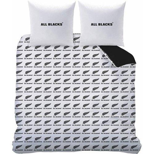 All Blacks All Blacks Dekbedovertrek Polo 200 x 200 cm + 2 kussenslopen 63 x 63 cm - Katoen  - Leverbaar in: 200x220