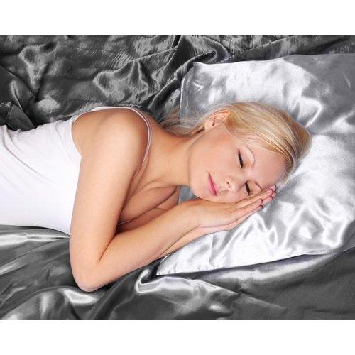 Sleeptime Sleeptime Beauty Skin Care Pillow - Kussensloop - 60x70 cm - Wit