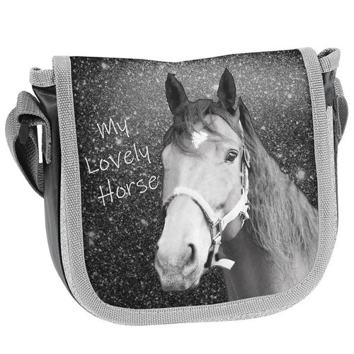 Animal Pictures Animal Pictures Schoudertas Lovely Horse - 17 x 15 x 4 cm - Polyester