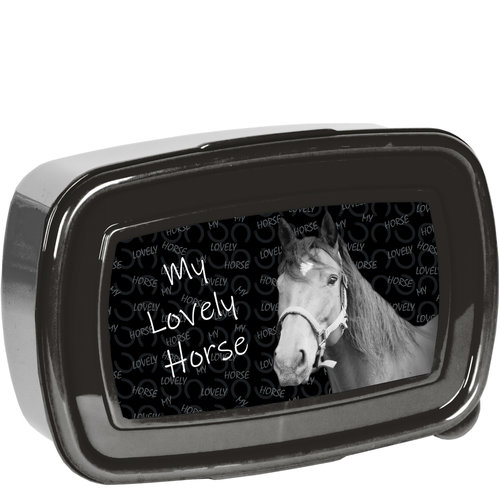 Animal Pictures Animal Pictures Lovely Horse Lunchbox - 18,5 x 13 x 6 cm - Polypropyleen