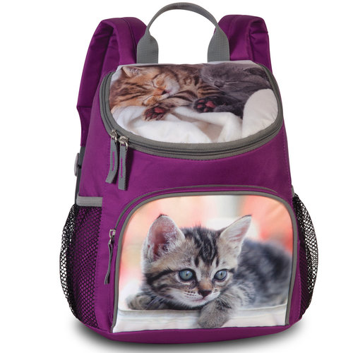 Animal Pictures Peuterrugzak, Kittens - 30 x 21 x 11 cm - Polyester