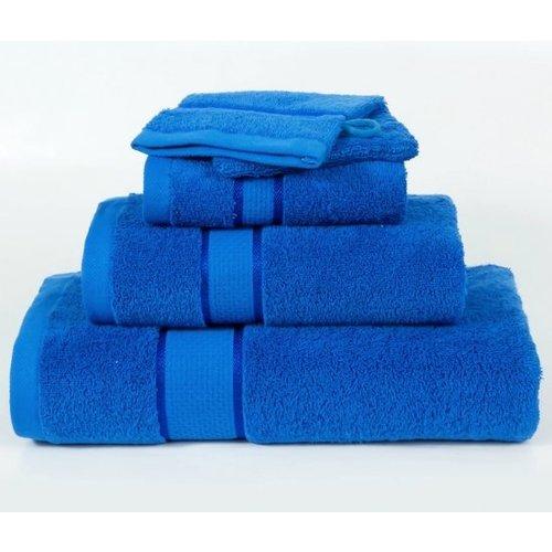 Horeca Suite Homéé - Badlaken Ruche 550g. p/m2 100% gekamde katoen Royal Blauw | 3 stuks | 70x140cm