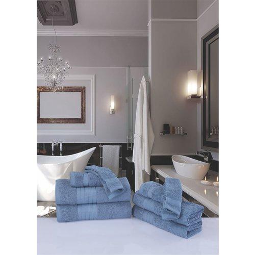 Good morning 8 stuks handdoeken set nr.1000 ice blauw