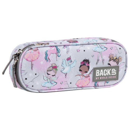 Back Up BackUp Etui Ballet 23 x 9 x 5 cm - Polyester  - Leverbaar in: 23x9x5