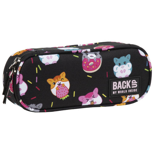 Back Up Back Up Etui Hamsters 23 x 9 x 5,5 cm - Polyester  - Leverbaar in: 23x5x5