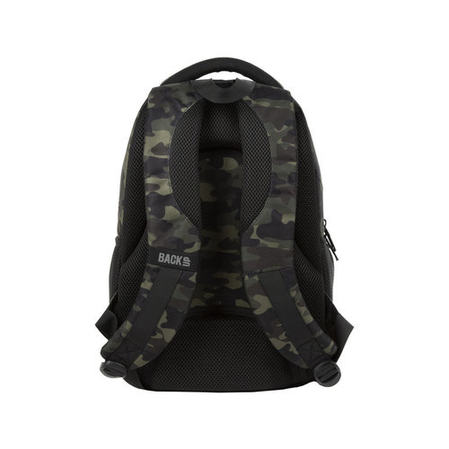 Back Up Backup rugzak camouflage - 39x25x18cm - Polyester  - Leverbaar in: 39x25x18