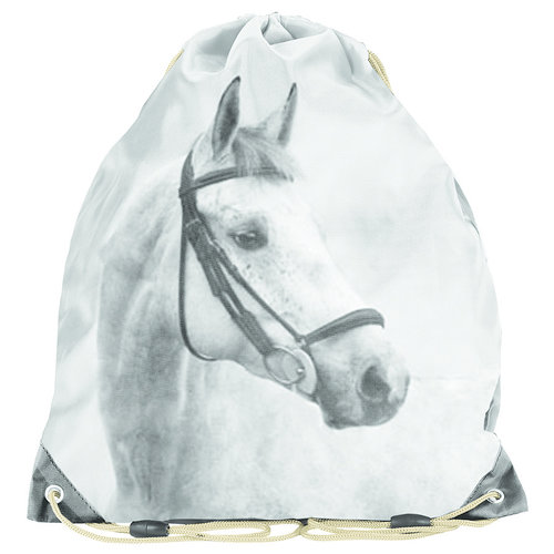 Animal Pictures Animal Pictures Gymbag, Golden Horse - 38 x 34 cm - Polyester  - Leverbaar in: 38x34