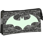 Batman Batman Etui, Night - 22 x 12 x 3 cm - Polyester - Leverbaar in: 22x12x3
