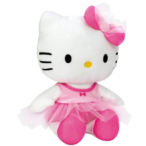 Hello Kitty Hello Kitty Ballerina - Knuffel - 27 cm - Roze