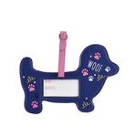 Floss & Rock Floss & Rock Bagage Label Hond - 15 x 10 cm - Met Naamkaartje