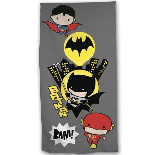 Batman 2-in-1 Strandlaken + Gymbag 70 x 140 cm  + 43 x 32 cm Polyester