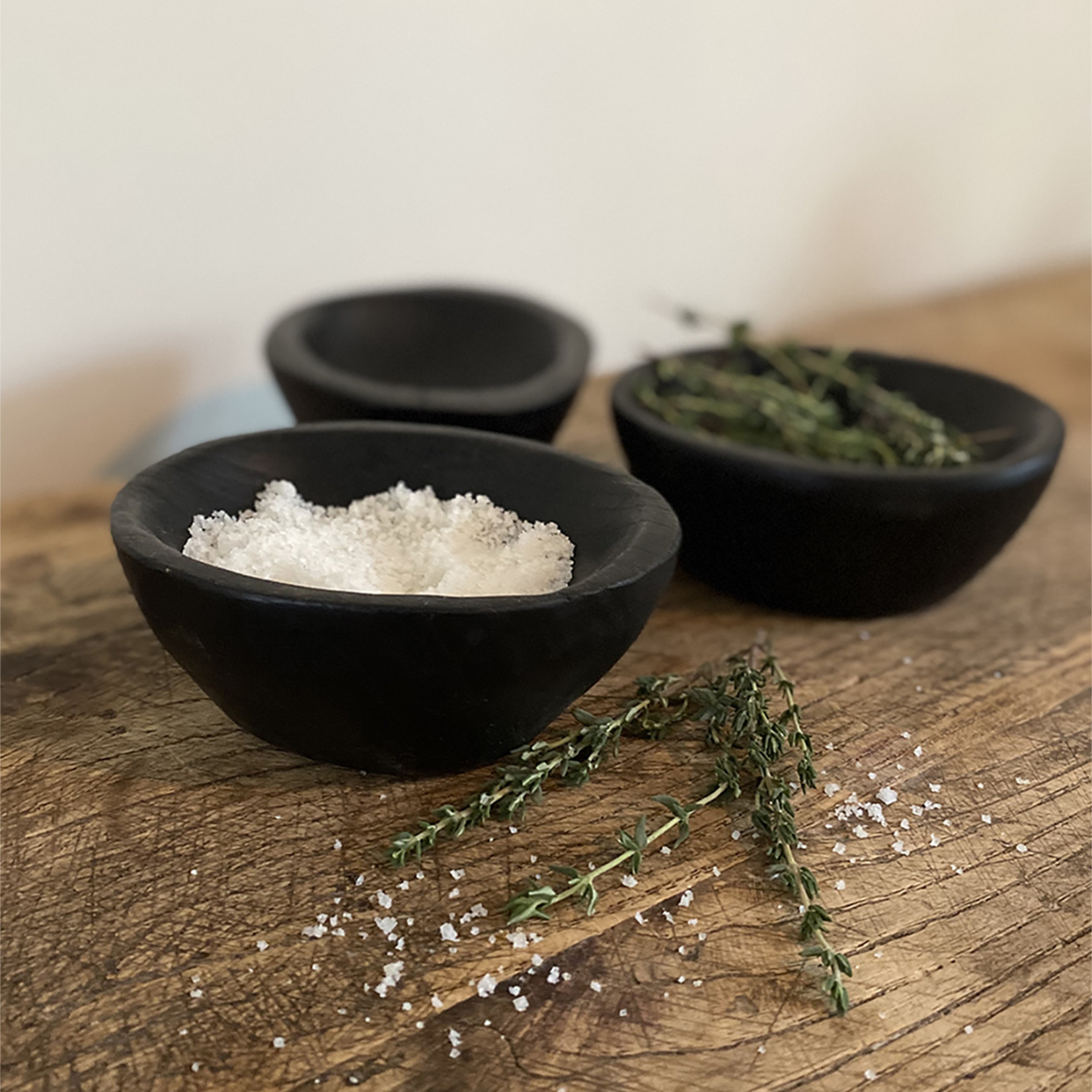 Small teak bowl