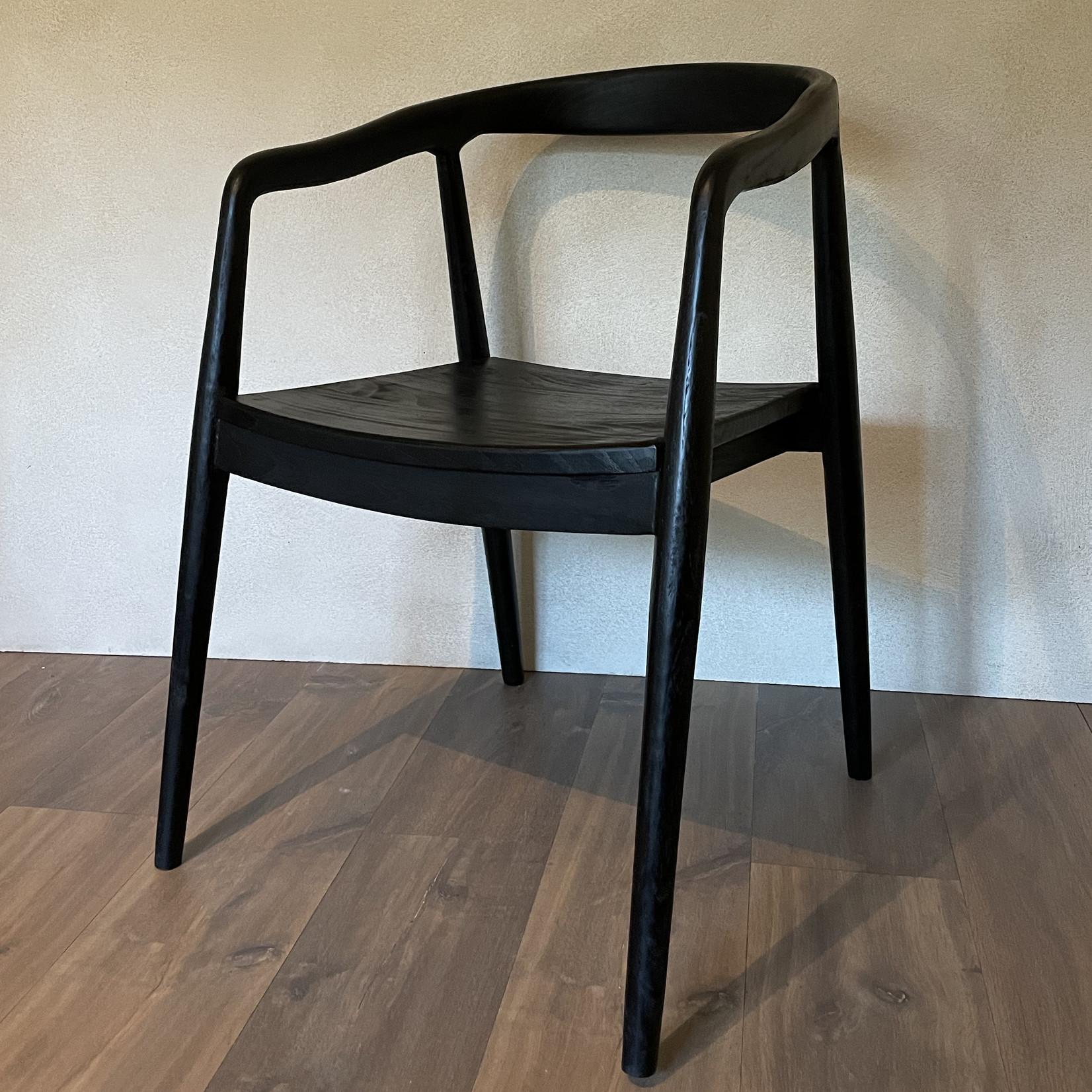 Chair teak  dark