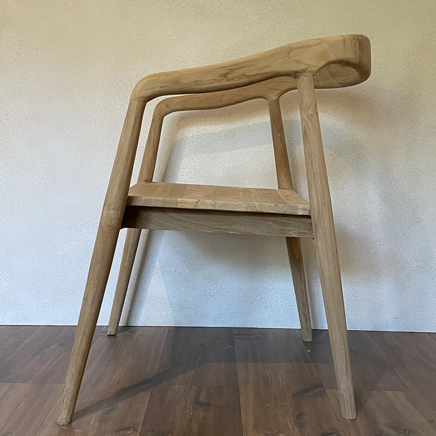 Chair teak natural