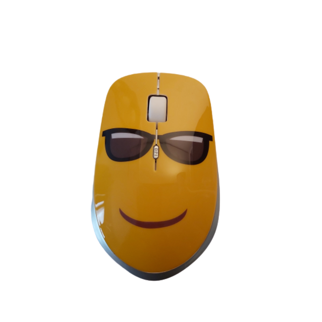 Muis Emoticon (met zonnebril)