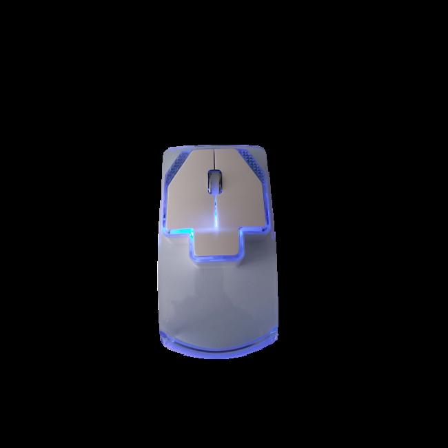 Muis Doorzichtige blauwe muis