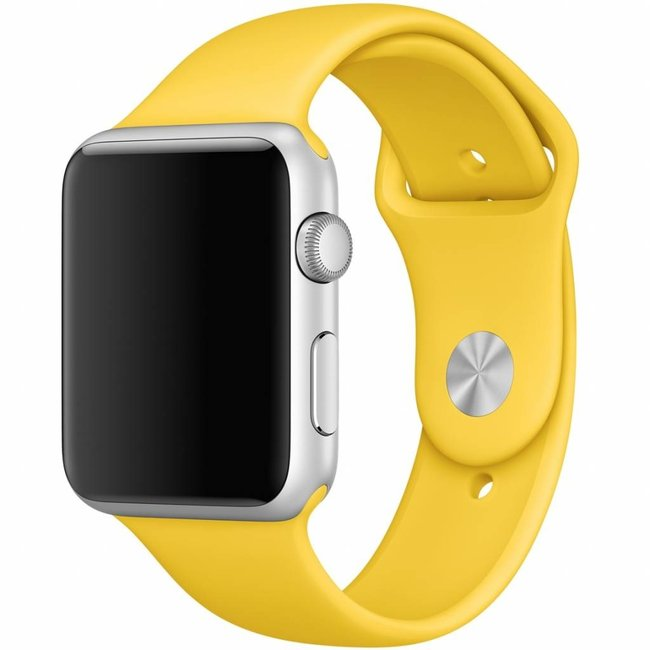Apple watch banda sportiva - giallo